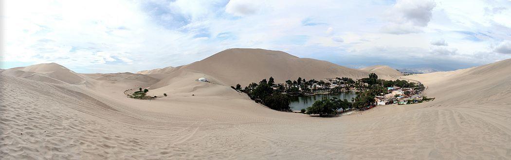 Peru körutazás oázis